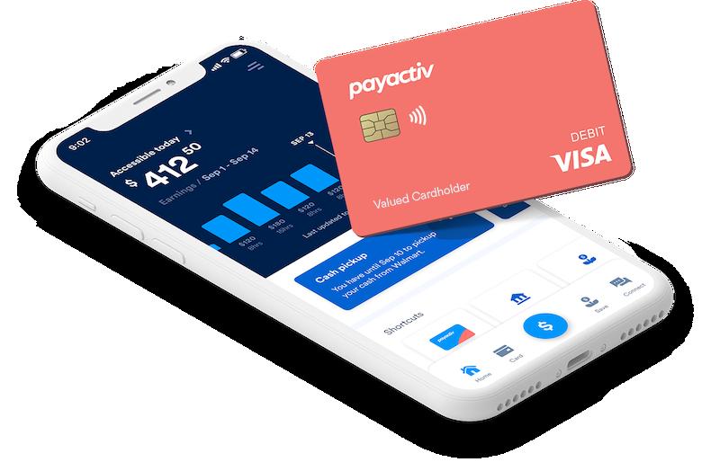 Payactiv App Card Make livelihood yours
